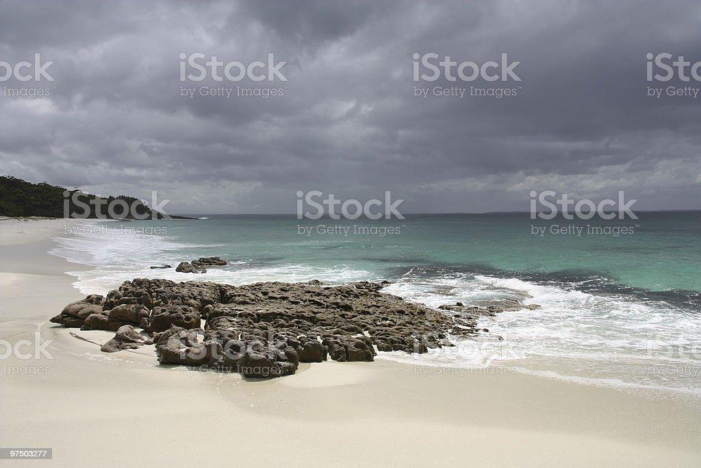 Jervis Bay royalty-free stock photo