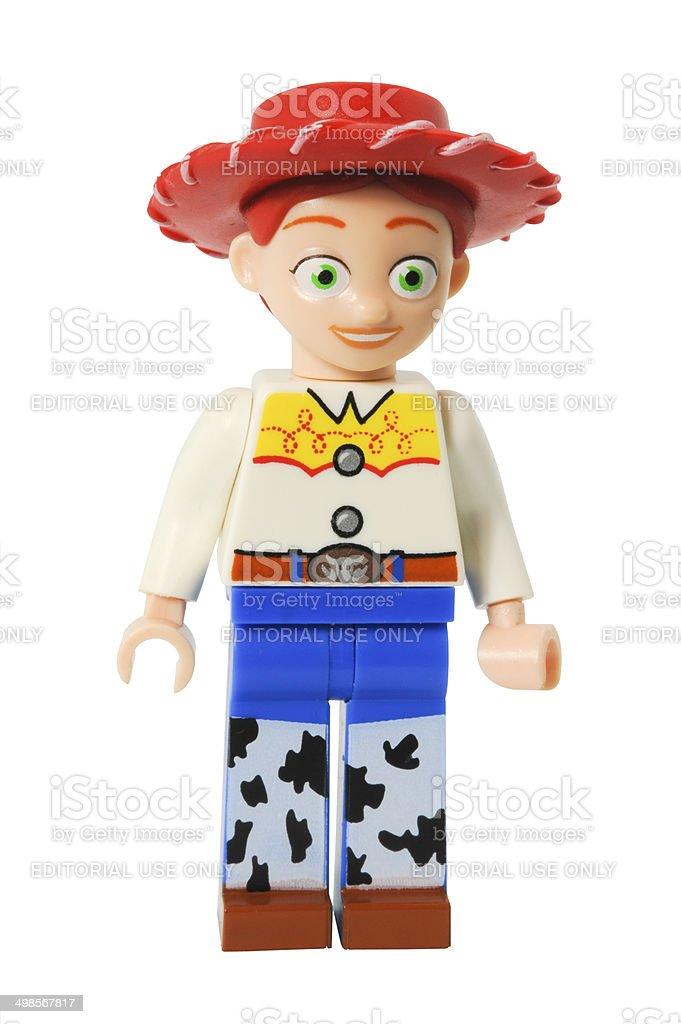 Jessie Lego Minifigurine stock photo