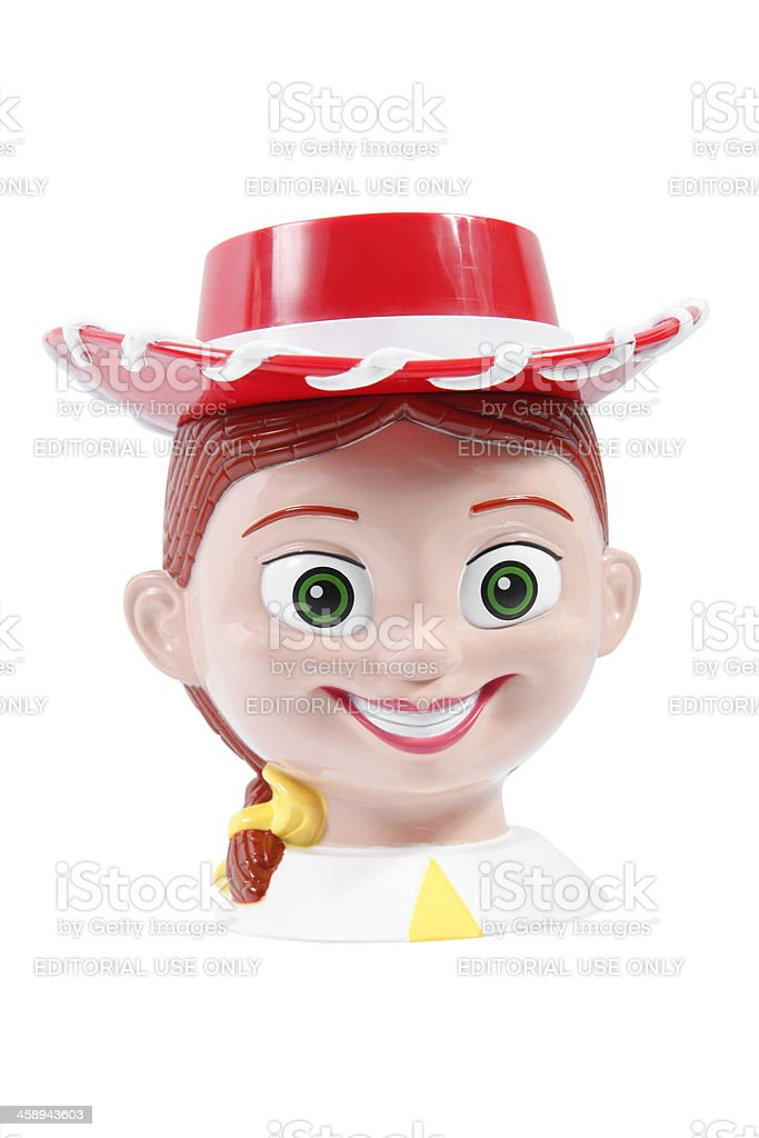 Jessie the Yodelling Cowgirl stock photo