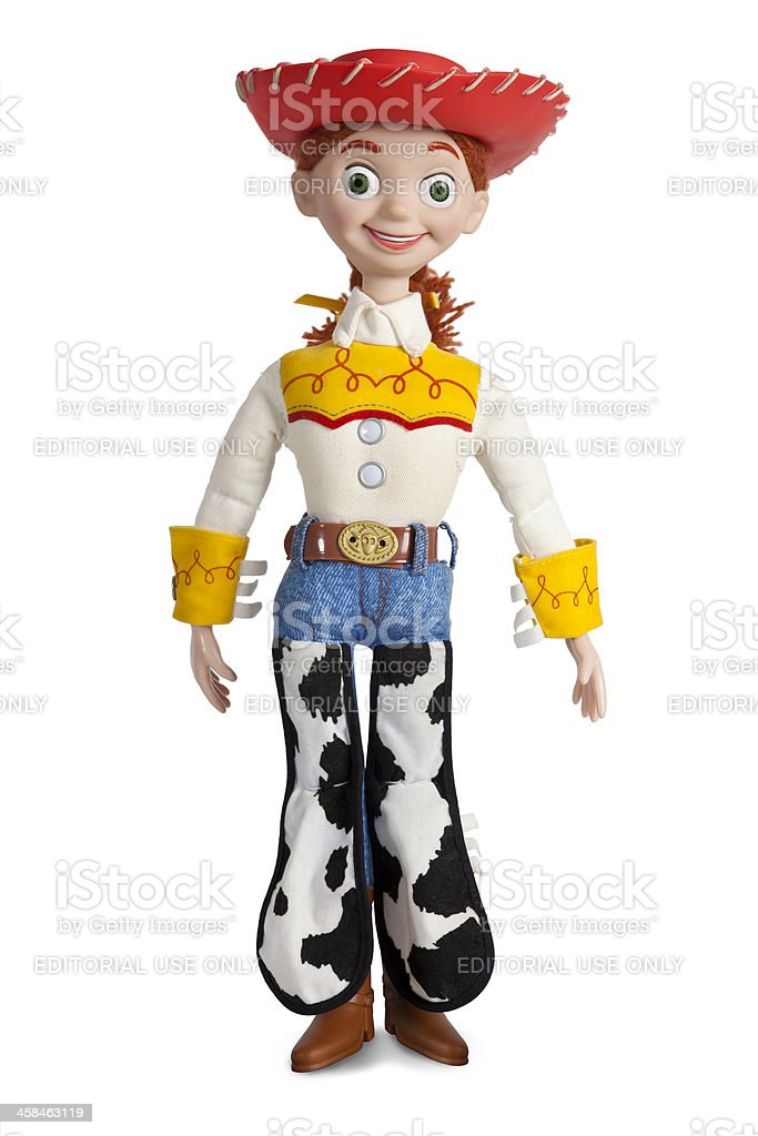 Jessie The Yodelling Cowgirl, Toy Story 2 stock photo