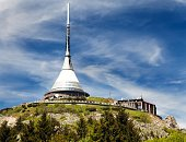 istock Jested lookout tower, Liberec, Bohemia, Czech Republic 626459918