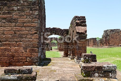 The Jesuit Missions of La Santisima Trinidad de Parana' is located in the Itapua Departement in Paraguay and is a religious missions that were founded by Jesuit missioners during the colonization of South America during the 17th Century.