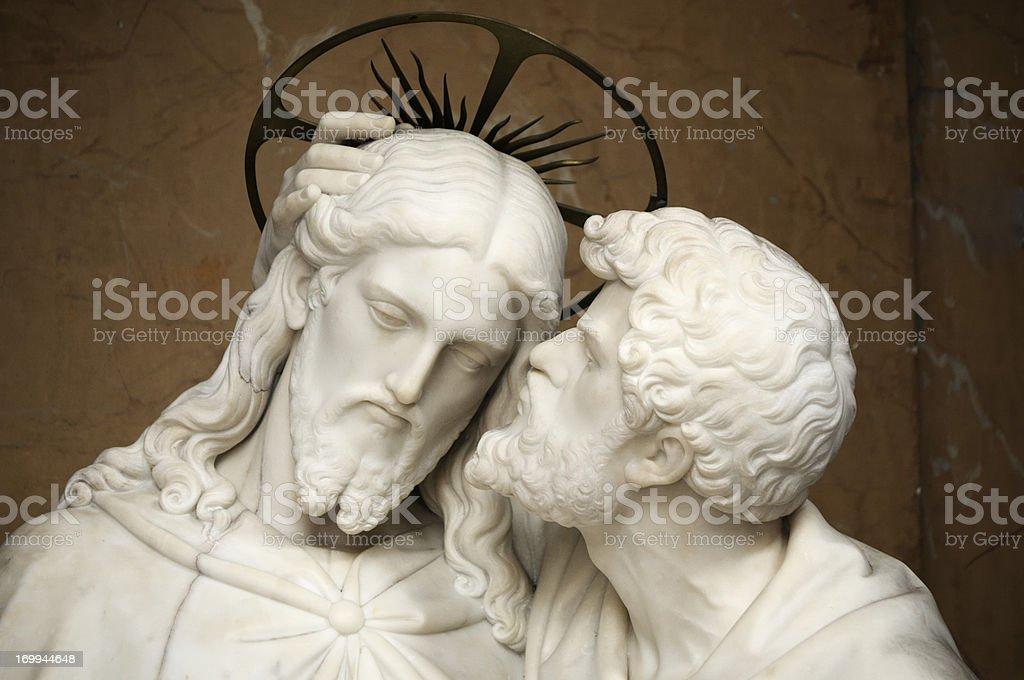 Jesus and Judas - The Betrayal