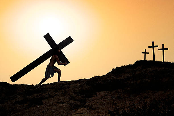 royalty free jesus carrying cross pictures images and stock photos