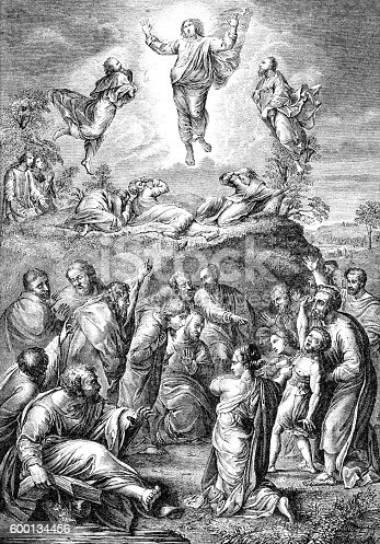 istock Jesus Christ Ascension into Heaven 600134456