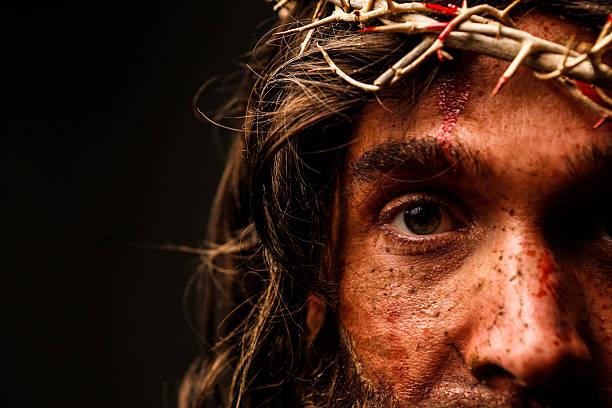 Jésus Christ Regardant l'objectif - Photo