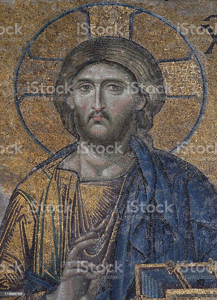 Jesus Christ Pantocrator royalty-free stock photo