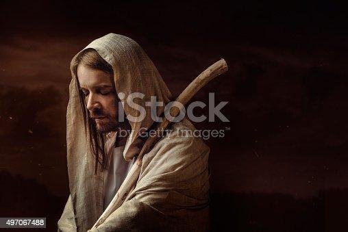 Man who looks like Jesus Christ