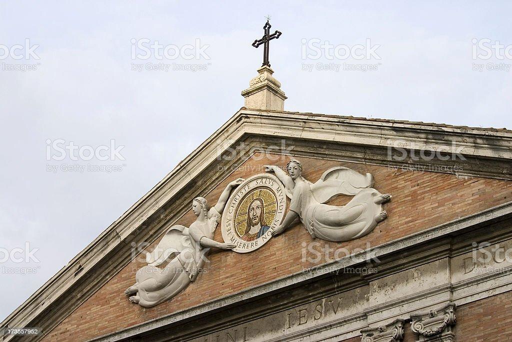 Jesus Church Perugia stock photo