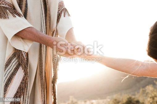 istock Jesus Comforting 182668143