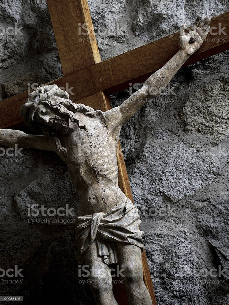 Jesus cross royalty-free stock photo