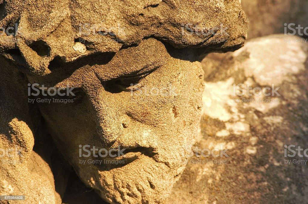 Jesus' Face royalty-free stock photo