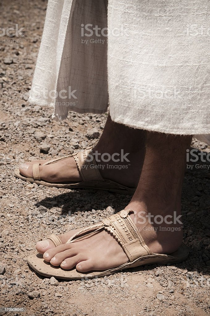 Jesus Füße – Foto