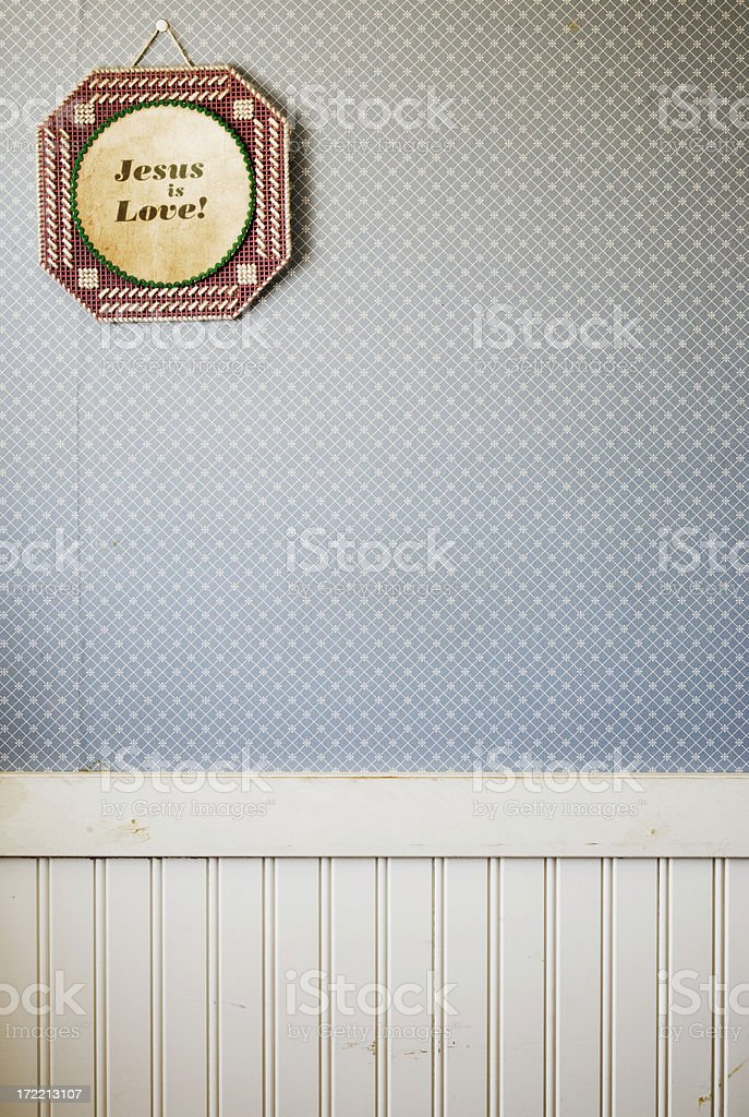 Jesus is Love royalty-free stock photo
