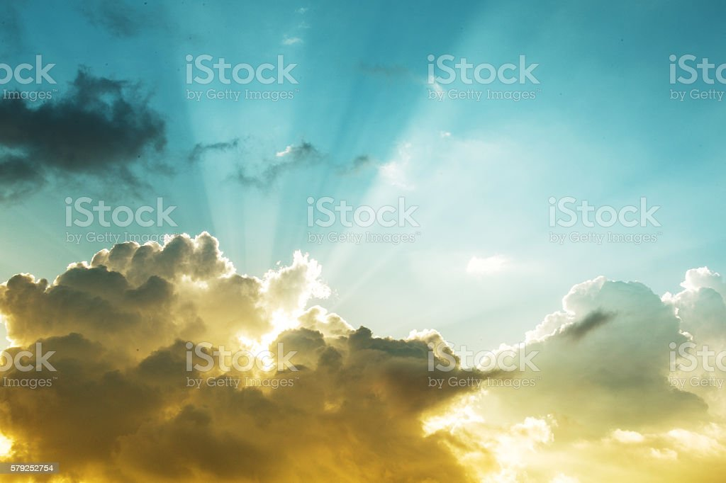 Jesus Light stock photo