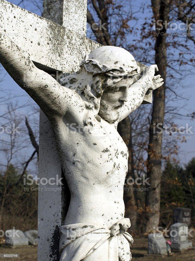 Jesus on Cross royalty-free stock photo