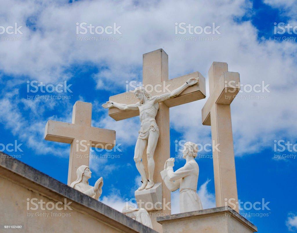 İsa çarmıha gerilmiş. - Royalty-free Dini Sembol Stok görsel