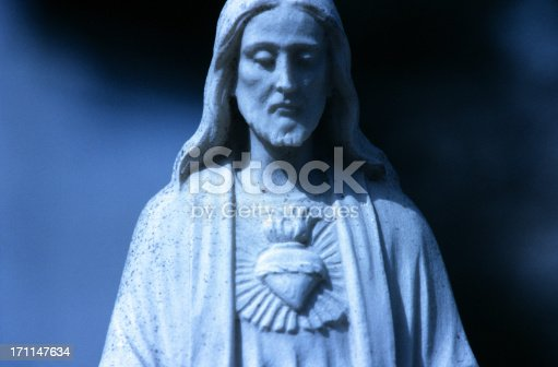 Christ. Statue in Italy