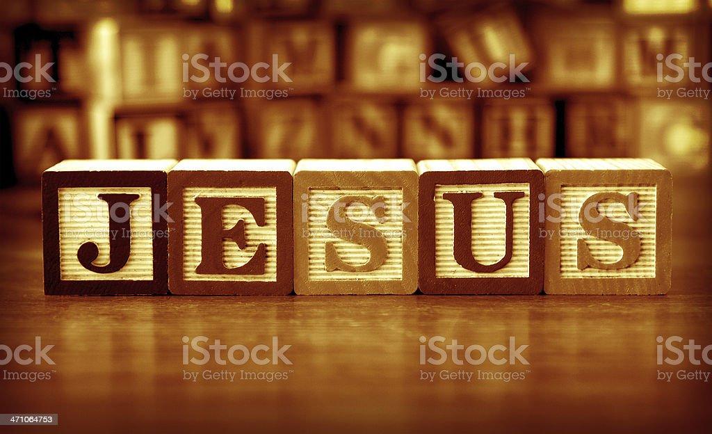 Jesus (#1 of series) royalty-free stock photo