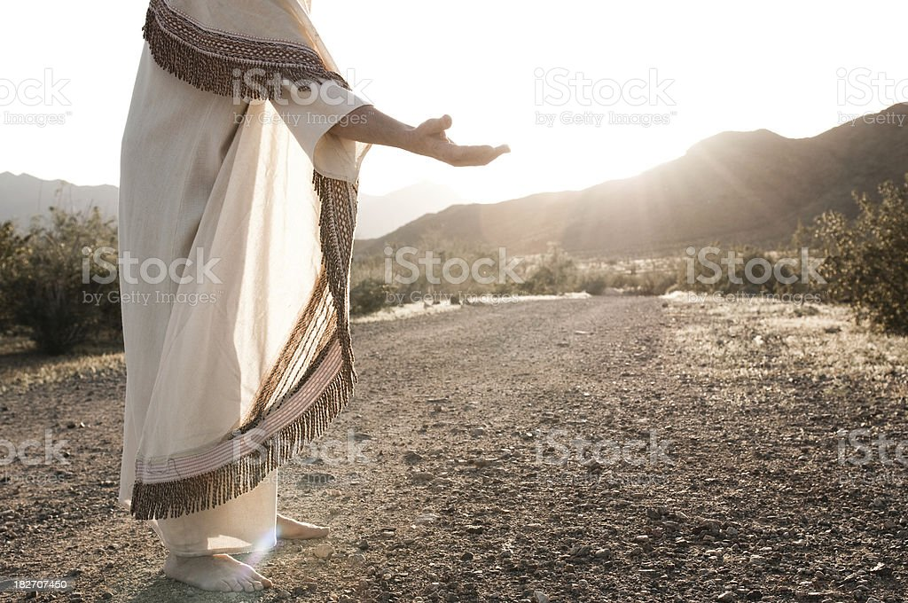 Jesus Reaching Out Similar Images: A Helping Hand Stock Photo