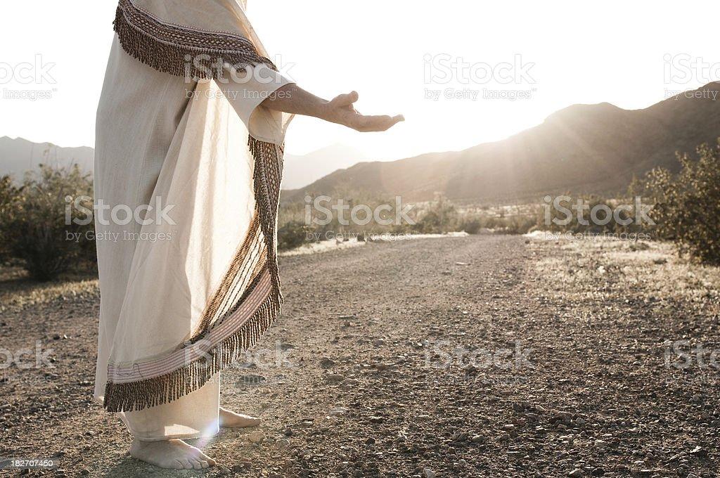 Jesus auszustrecken – Foto
