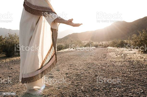 Jesus Reaching Out Stock Photo - Download Image Now