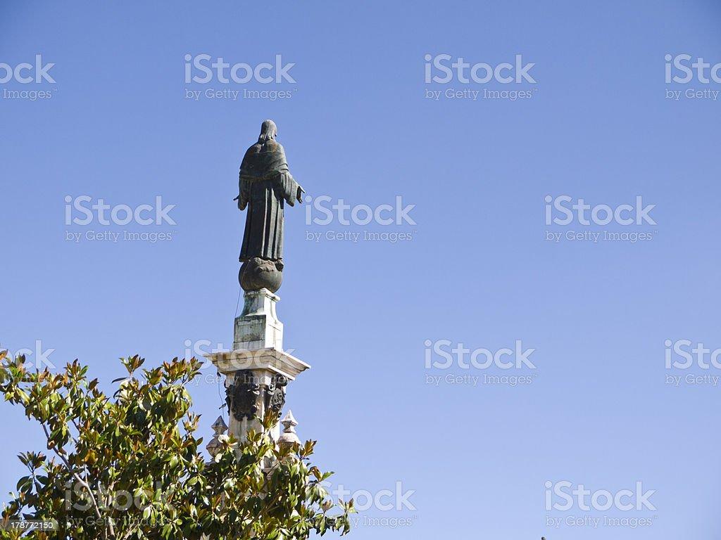 Jesus statue royalty-free stock photo