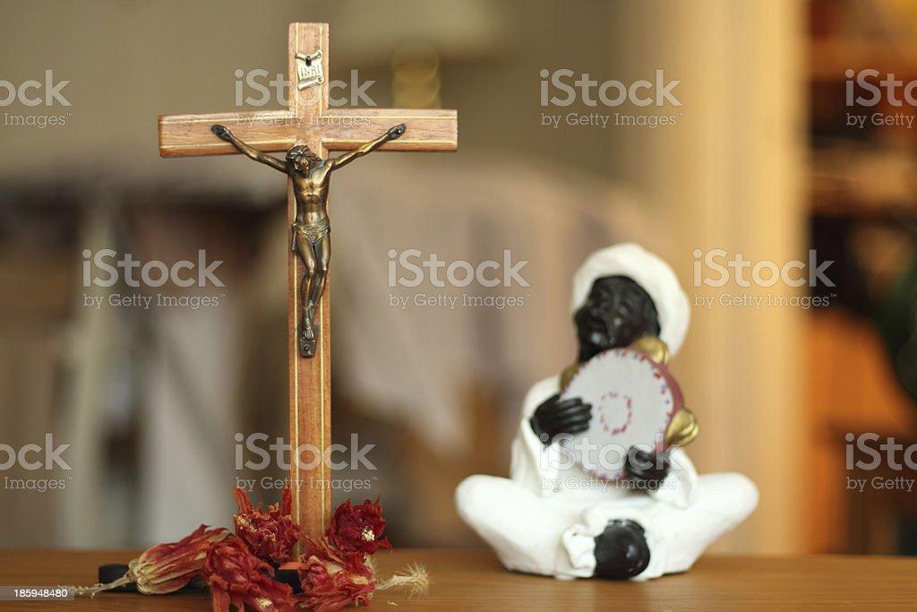Jesus suffering stock photo