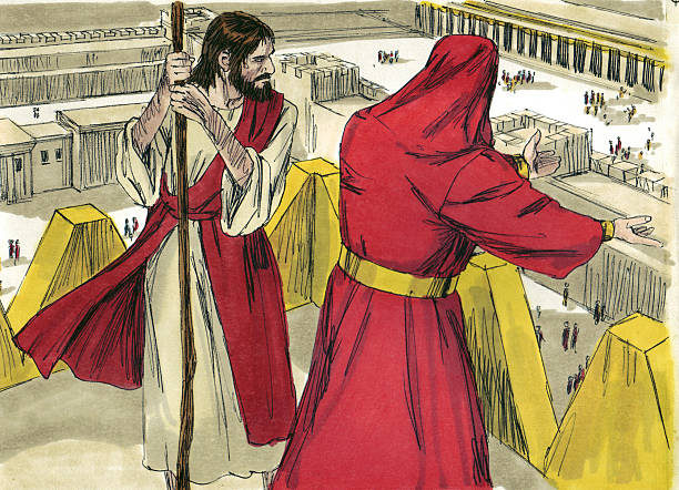 Jesus Tempted by Satan