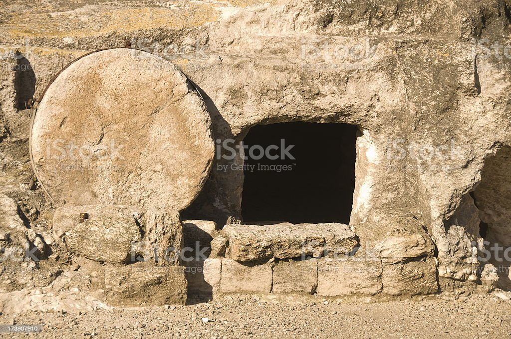 Jesus Tomb in Holy land royalty-free stock photo