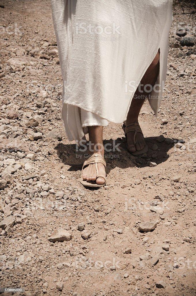 Jesus zu Fuß – Foto