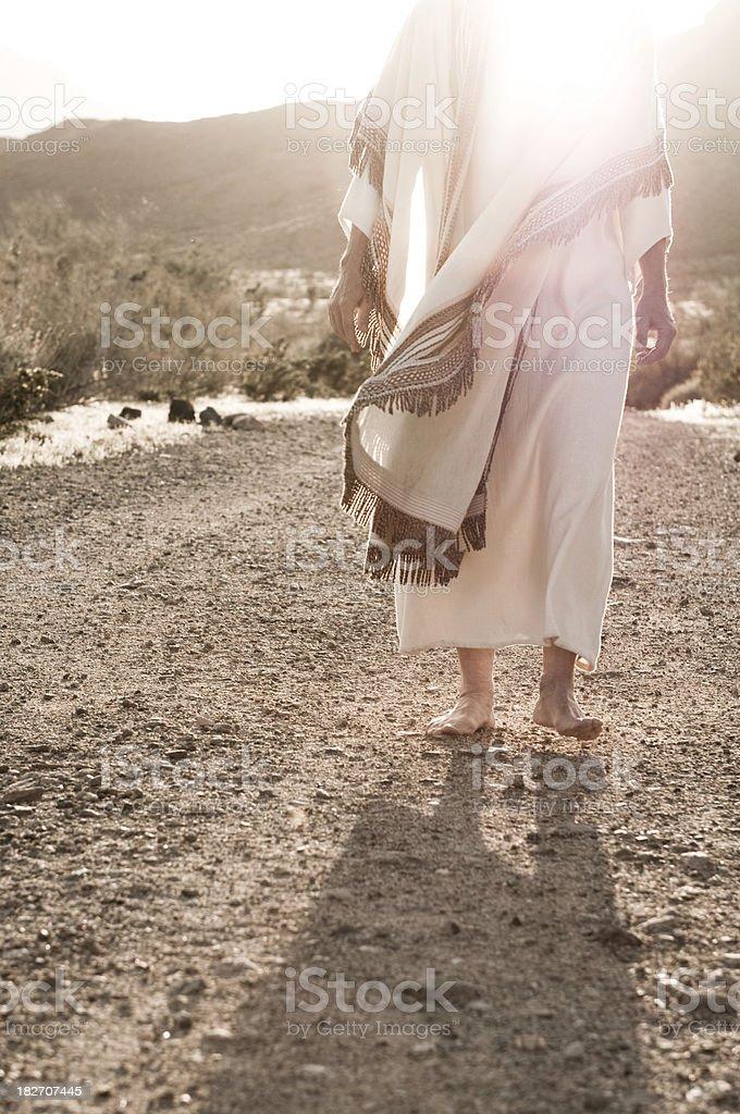 Jesus marcher en direction de - Photo