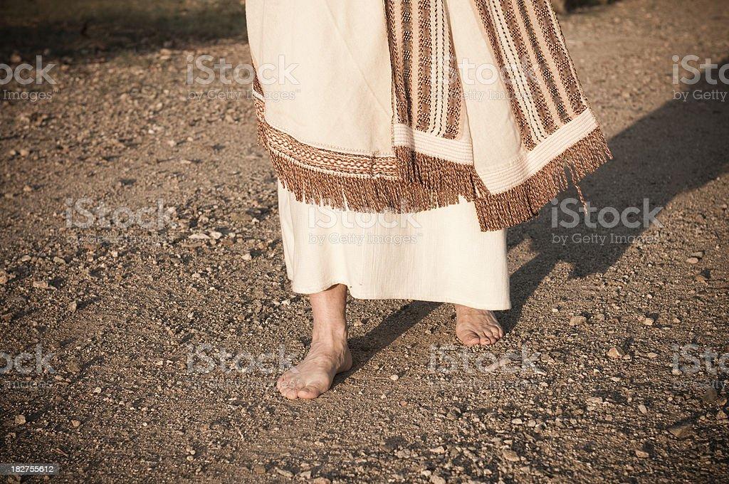 Jesus geht in Richtung – Foto