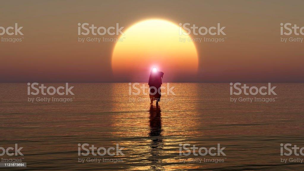 Jesus walks on water, Miracles of Jesus Christ,The prophet of God,...