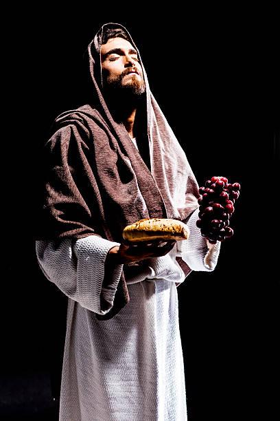 jesuschrist praying - 大比大 聖經人物 個照片及圖片檔