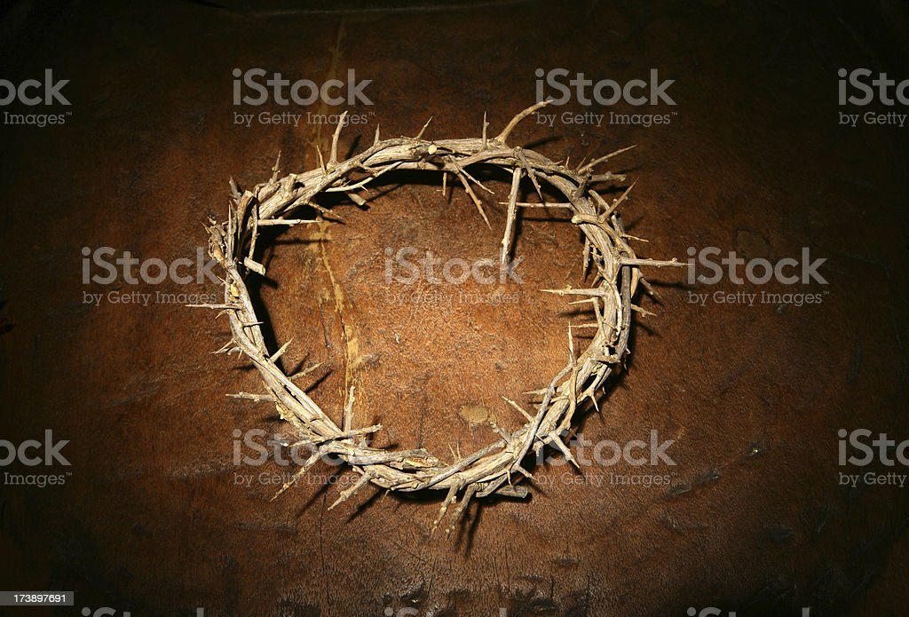 Jesus's - Crown of Thorns stock photo