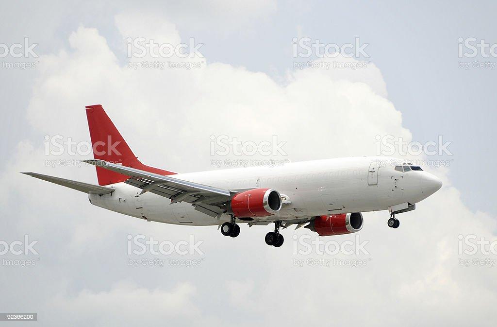 Jet airplane royalty-free stock photo