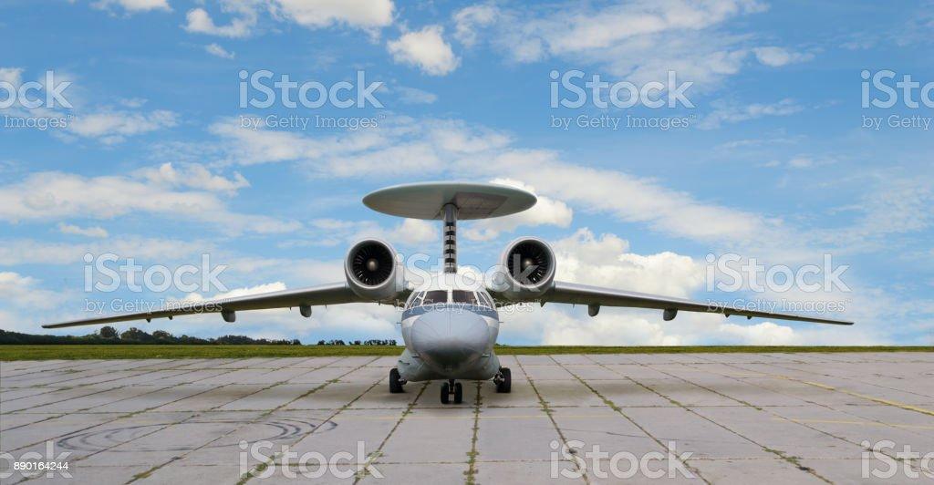 Fotografía de Avión A Reacción Con Motores De Turborreactor Y Antena ...