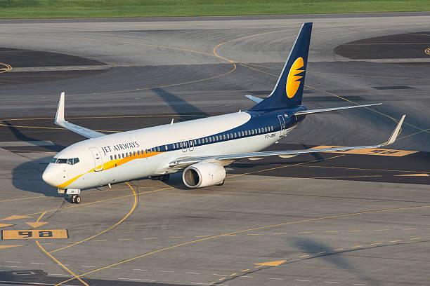Jet Airways Boeing 737-800 stock photo