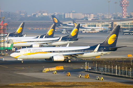 Jet Airways Is The Second Largest Airline In India With A Market Share Of 212 Stock Photo - Download Image Now