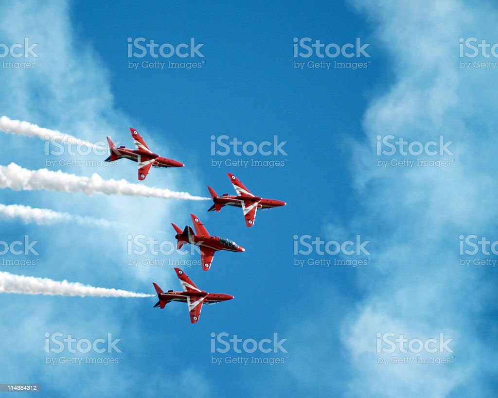 Jet Display Team stock photo
