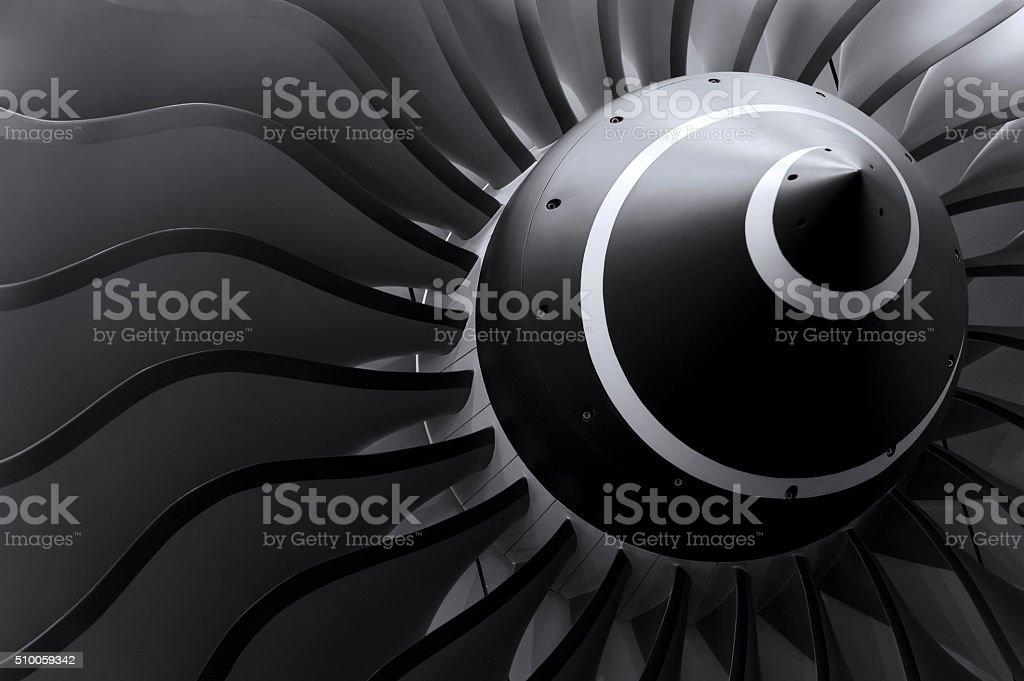 Jet moteur lames photo libre de droits