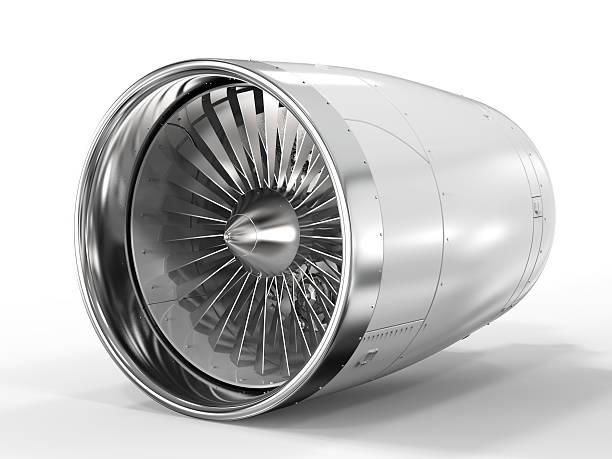 jet engine on white background - silnik odrzutowy zdjęcia i obrazy z banku zdjęć