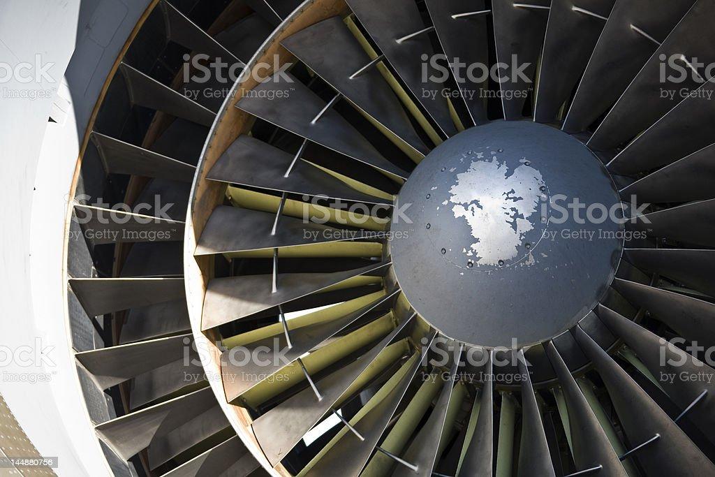 C5 Jet Engine royalty-free stock photo