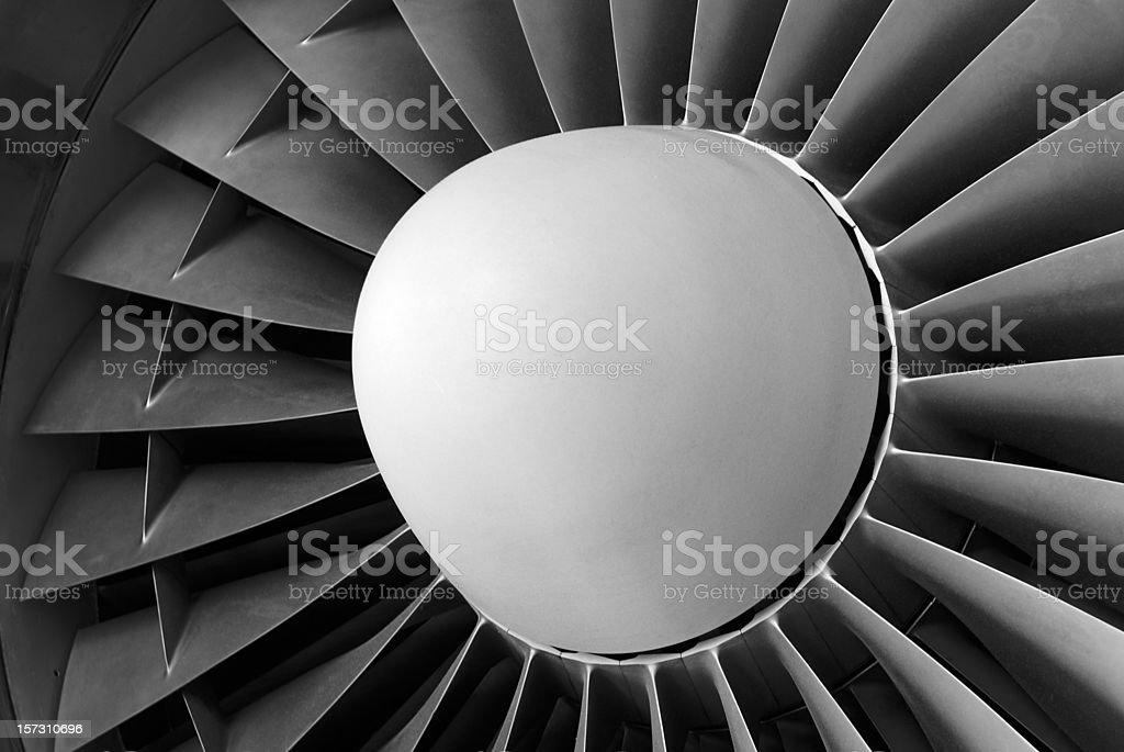 Jet Engine royalty-free stock photo
