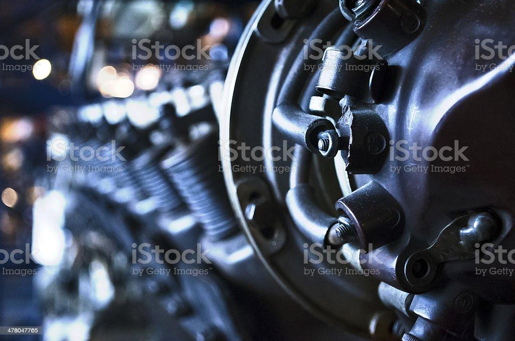 Jet Engine stock photo