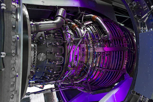 jet engine - flächeninhalt stock-fotos und bilder