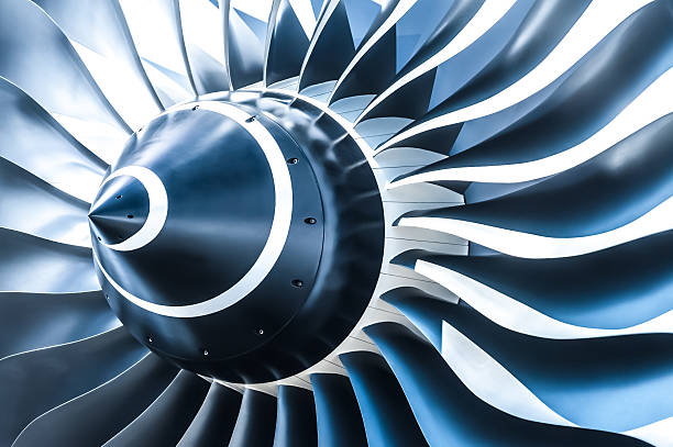 jet engine - turbine stock-fotos und bilder
