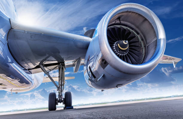 jet engine jet engine of an aircraft turbine stock pictures, royalty-free photos & images
