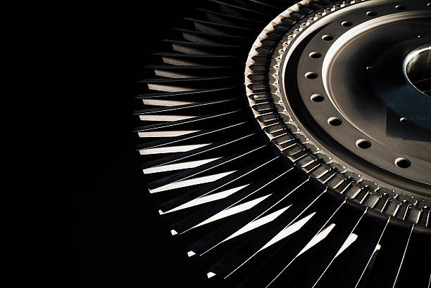 Jet engine turbine blades  turbine stock pictures, royalty-free photos & images